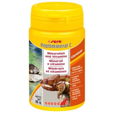 Sera Reptimineral C 100 ml 85g Minerali e Vitamine per Rettili Carnivori