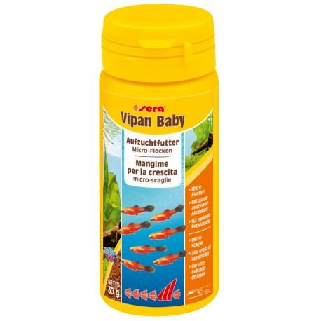 Sera Vipan Baby 50 ml 30g Mangime in scaglie per pesci acquario