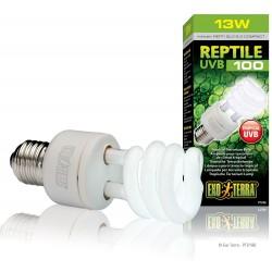 Exo Terra Reptile UVB 100 13 W ex Repti Glo 5.0 Compact Lampada per Rettili E27
