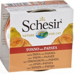 Schesir Fruit 75 gr Tonnetto con Papaya