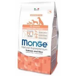 Monge All Breeds Puppy & Junior Salmone 2,5 Kg Crocchette per Cane