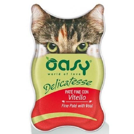 Oasy Delicatesse Patè con Vitello 85 gr