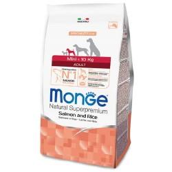 Monge Mini Adult Salmone e Riso 7,5 Kg Crocchette per Cane