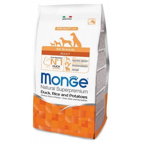 Monge All Breeds Adult Anatra Riso e Patate 12 Kg