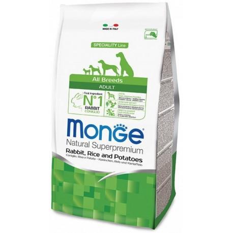 Monge All Breeds Adult Coniglio,Riso e Patate 12 kg