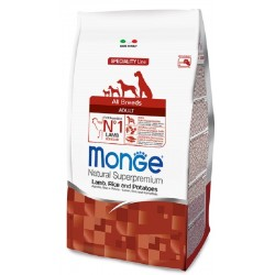 Monge All Breeds Adult Agnello, Riso e Patate 12 kg