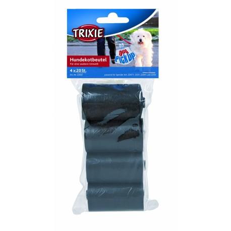 Trixie sacchetti igienici 4 rotoli da 20 pezzi 2332