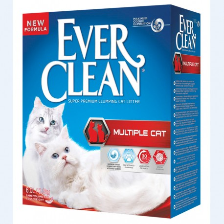 Ever Clean Multiple Cat 6 L