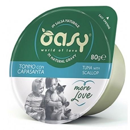 Oasy More Love Green Cup Tonno Con Capasanta 80 g