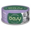 Oasy More Love 75% Pollo con Uova per Gattini in acqua di cottura 70 g
