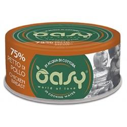 Oasy More Love 75% Petto di Pollo in acqua di cottura 70 g