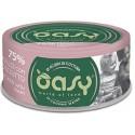 Oasy More Love 75% Pollo con Prosciutto in acqua di cottura 70 g