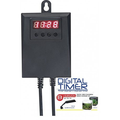Digital Timer per Plafoniera Wave modello Orion Xcube led