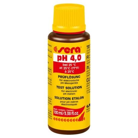Sera Soluzione di Taratura PH 4,0 100 ml