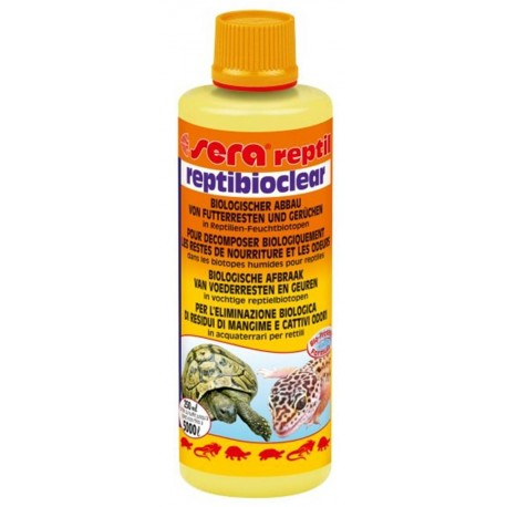 Sera Reptibioclear 250 ml Batteri per Tartarughe e Rettili