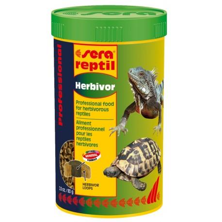 Sera Reptil Professional Herbivor 250 ml Mangime per Rettili Erbivori