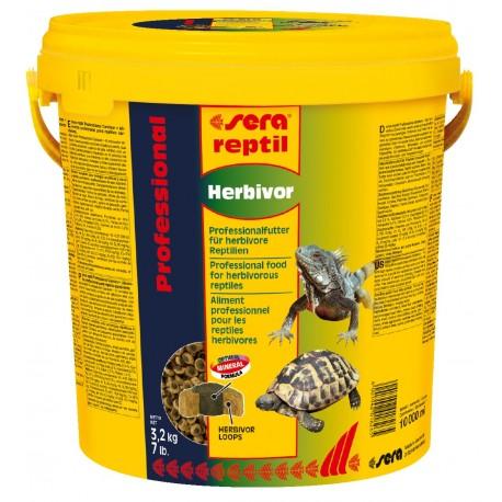 Sera Reptil Professional Herbivor 10 Lt Mangime per Rettili Erbivori