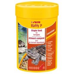 Sera Raffy P 100 ml Mangime completo in Sticks per Tartarughe