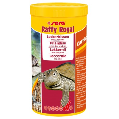 SERA Raffy ROYAL 1000ml 220g Mangime per tartarughe