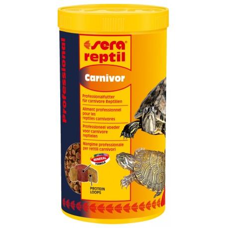 Sera reptil Carnivor 1000 ml Mangime per Rettili Carnivori