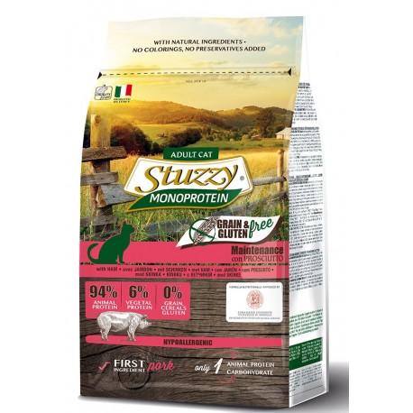 Stuzzy Cat Grain Free Monoprotein Adult con Prosciutto 400 gr