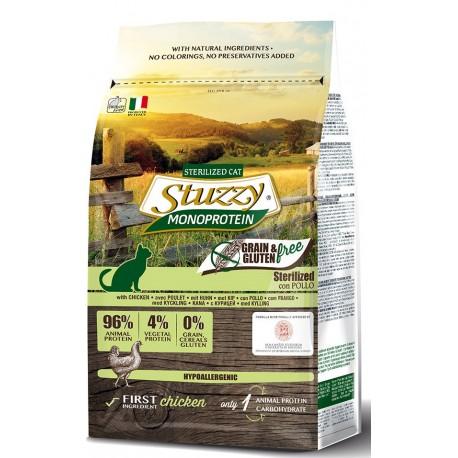 Stuzzy Cat Grain Free Monoprotein Adult Sterilizzato con Pollo 1,5 kg
