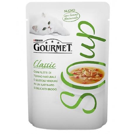 Gourmet Soup Tonno Naturale e Verdure in Brodo 40gr