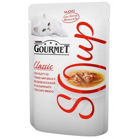 Gourmet Soup Tonno Naturale e Acciughe in Brodo 40gr