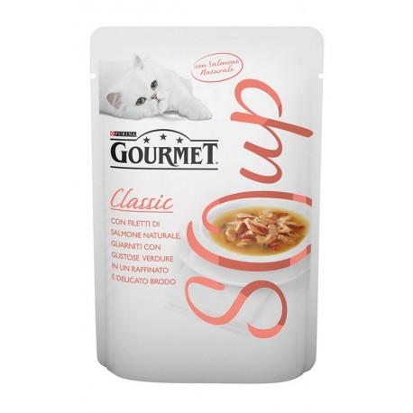 Gourmet Soup Salmone al Naturale con Verdure in Brodo 40gr
