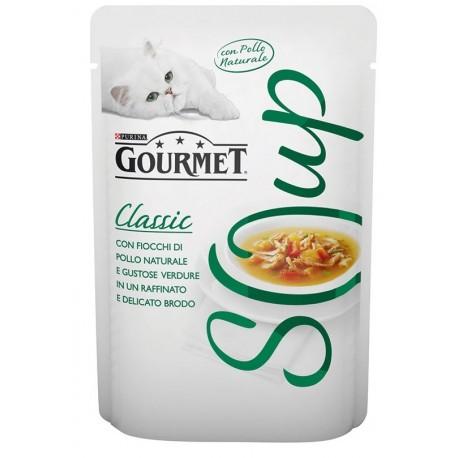 Gourmet Soup Pollo al Naturale con Verdure in Brodo 40gr