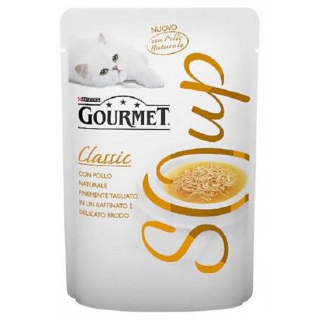 Gourmet Soup Straccetti di Pollo al Naturale in Brodo 40gr