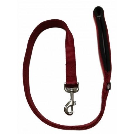 Trixie Premium Guinzaglio Comfort Bordeaux L- XL 1.00m/25mm - 20030