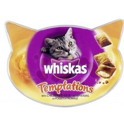 Whiskas Temptations con Pollo 60 gr