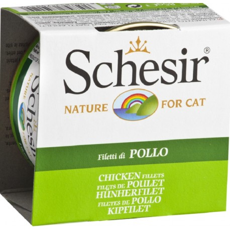 Schesir Cat 85 gr Filetti di Pollo in Jelly