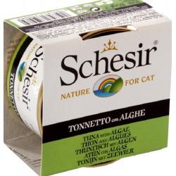 Schesir Cat 85 gr Tonnetto con Alghe in Jelly