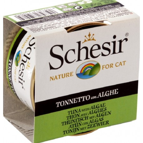 Schesir Cat 85 gr Tonnetto con Alghe in Jelly