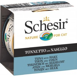 Schesir Cat 85 gr Tonnetto con Nasello in Jelly