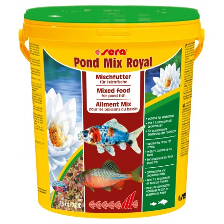 Sera Pond Mix Royal 21 lt Mangime Misto per Pesci Laghetto