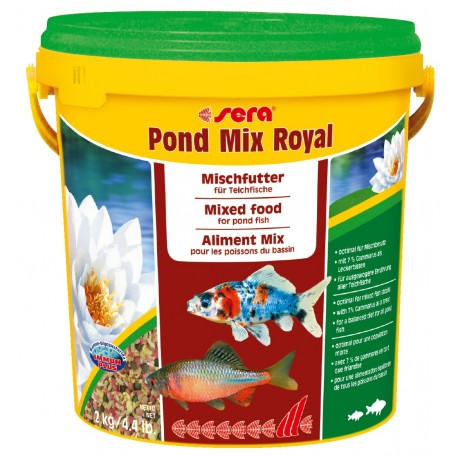 Sera Pond Mix Royal 10 lt Mangime Misto per Pesci Laghetto