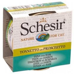 Schesir Cat 70gr Tonnetto con Prosciutto in Brodo