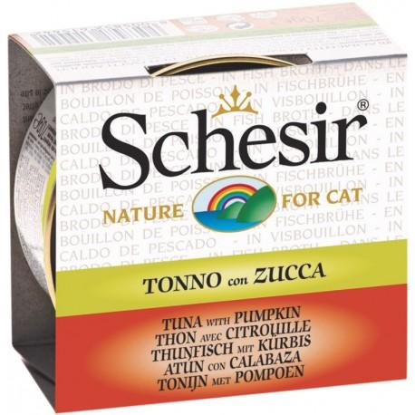 Schesir Cat 70gr Tonnetto con Zucca in Brodo