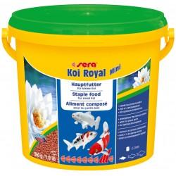 Sera Koi Royal Mini 3800 ml 900g Mangime in granuli per carpe KOI