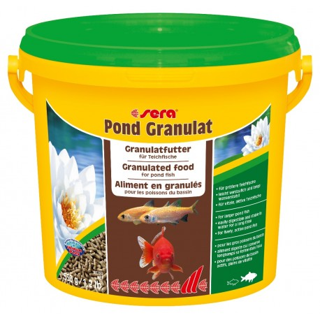 Sera Pond Granulat 3800 ml 550g Mangime per Pesci Grandi Laghetto