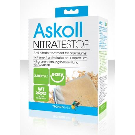 Askoll Nitrate Stop 2x100 ml per 100lt materiale filtrante trattamento acquario