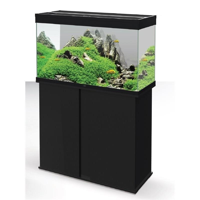 Askoll ciano supporto acquario emotion 80 nero for Mobile per acquario