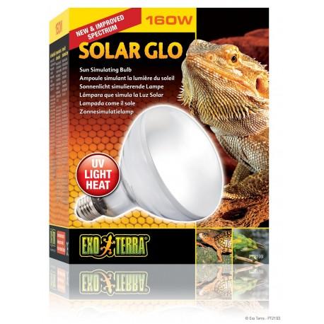Exo Terra Solar Glo 160 W Lampada Solare per Rettili