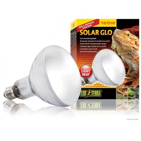 Exo Terra Solar Glo 125 W Lampada Solare per Rettili