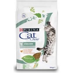 Purina Cat Chow Sterilised 10 kg ex Tonus Croccantini per gatto