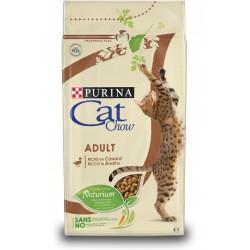 Purina Cat Chow Adult Ricco in Anatra 10 kg ex Tonus Croccantini per gatto