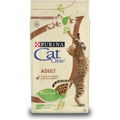 Purina Tonus Cat Chow Adult Ricco in Anatra 10 kg Croccantini per gatto